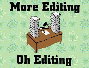 More editing